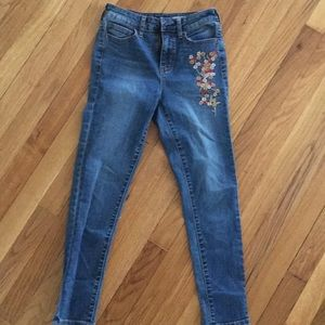 Aeropostale size 0 high waisted cropped jogging